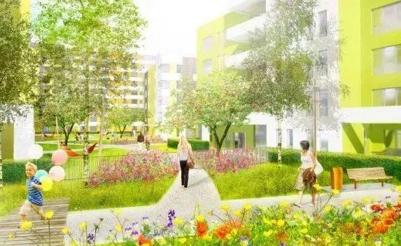 健康社区 | 绿色空间的隔离与防护