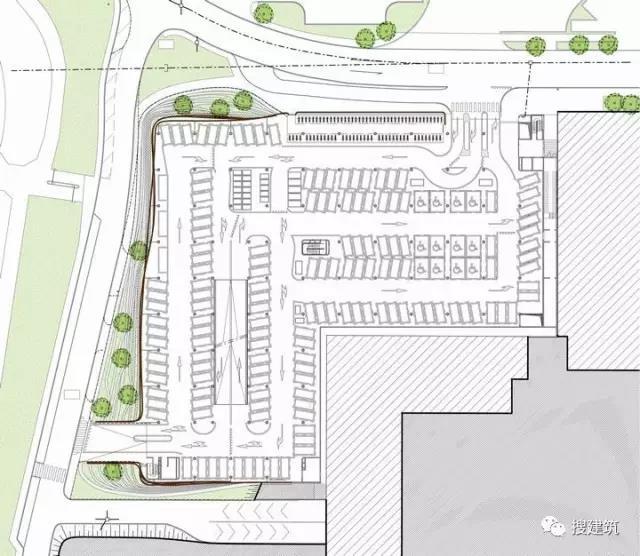 1个国内高科技停车场+1座大学的停车库建筑